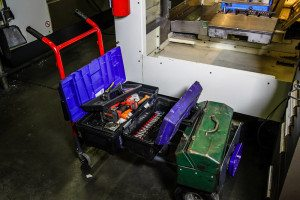 We come to where your machines are and bring all the necessary tools and materials.