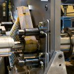 Custom built boring machine