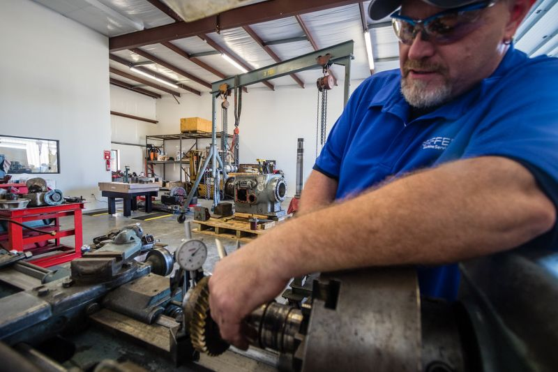 machine tool rebuild north carolina